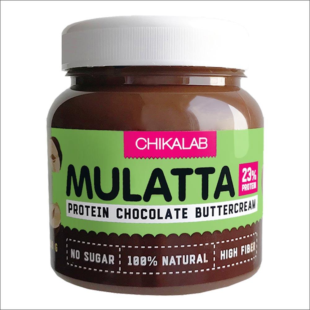 Chikalab Mulatta Шоколадная паста с фундуком, 250 гр