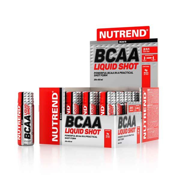 Nutrend BCAA Liquid Shot 60 мл 20 шт