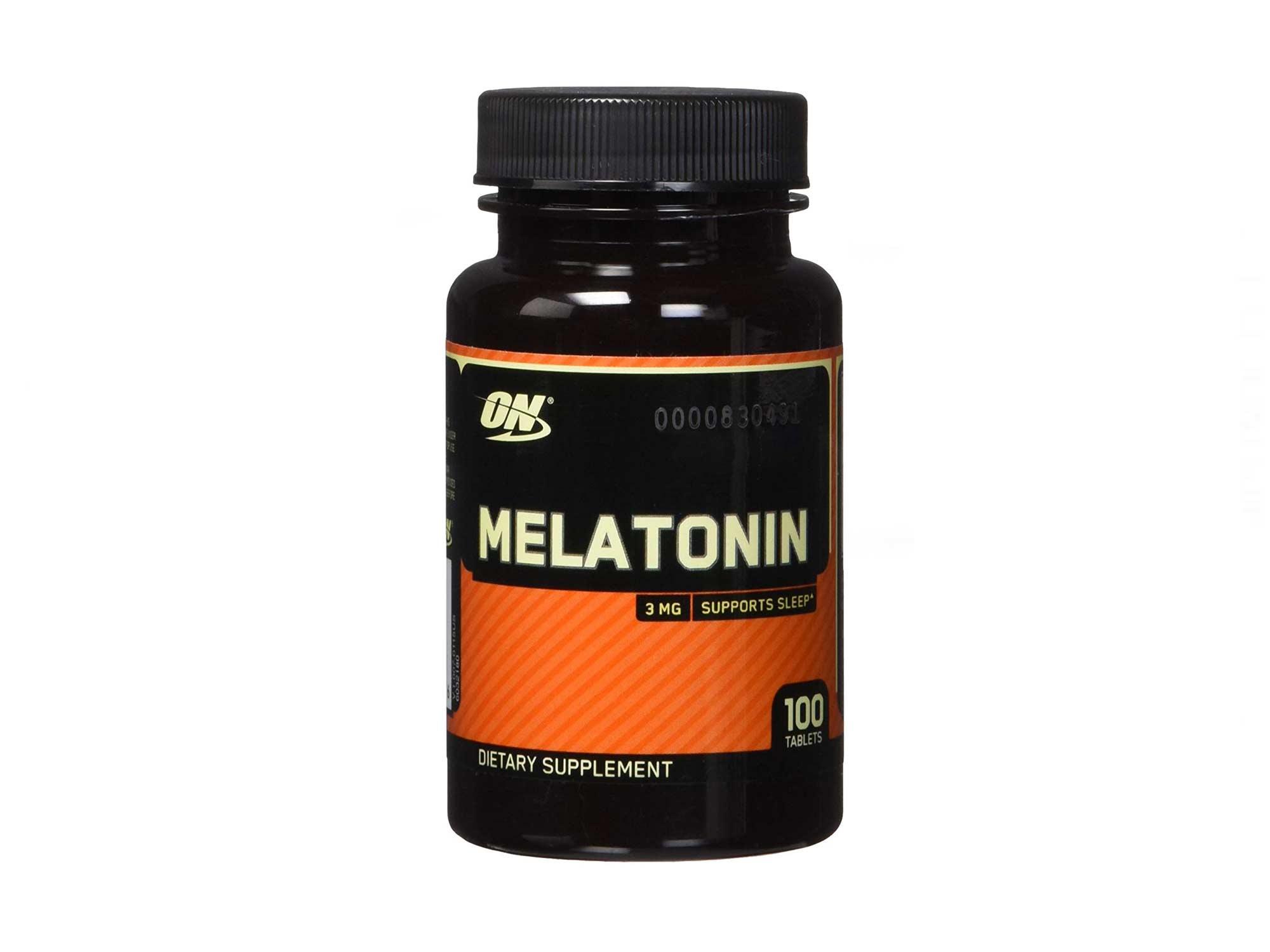 Optimum Nutrition Melatonin 100 таб | Мелатонин 100 таб 3мг