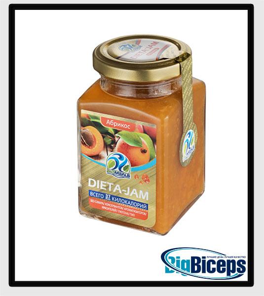 BIOMEALS DIETA-JAM, абрикос, 230 гр.