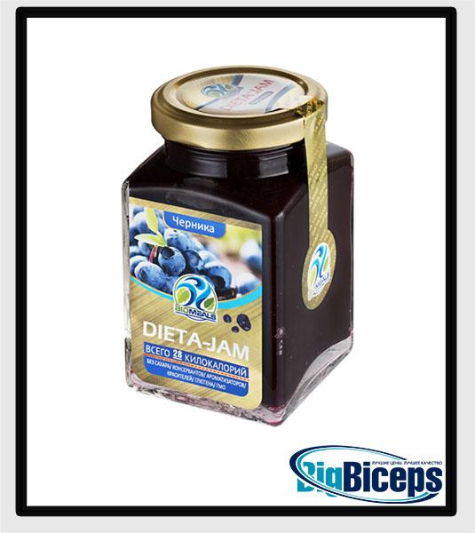 BIOMEALS DIETA-JAM, черника, 230 гр.
