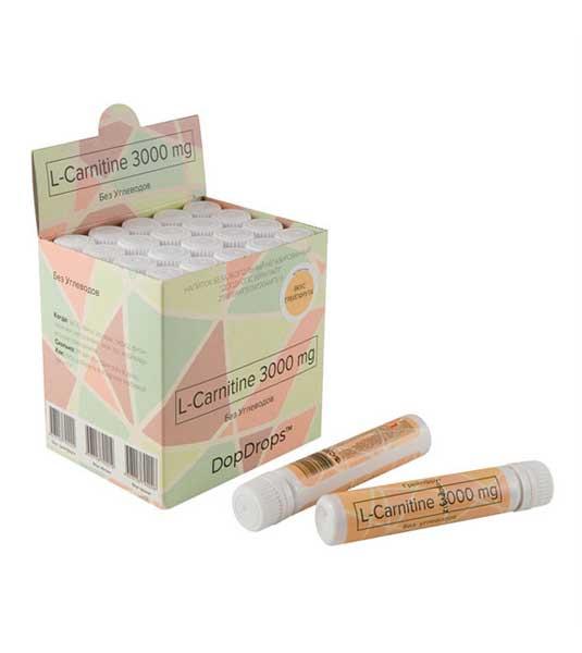 DopDrops L Carnitine 3000 мг 20 ампул