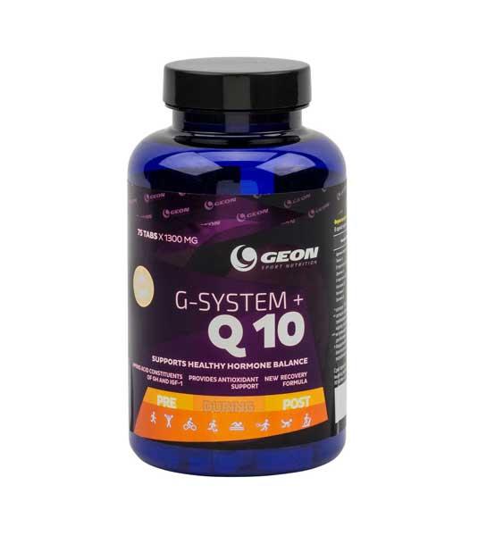 Geon G-System+Q10 75 таб