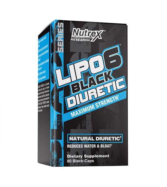 Nutrex Lipo-6 Black Diuretic 60 капсул