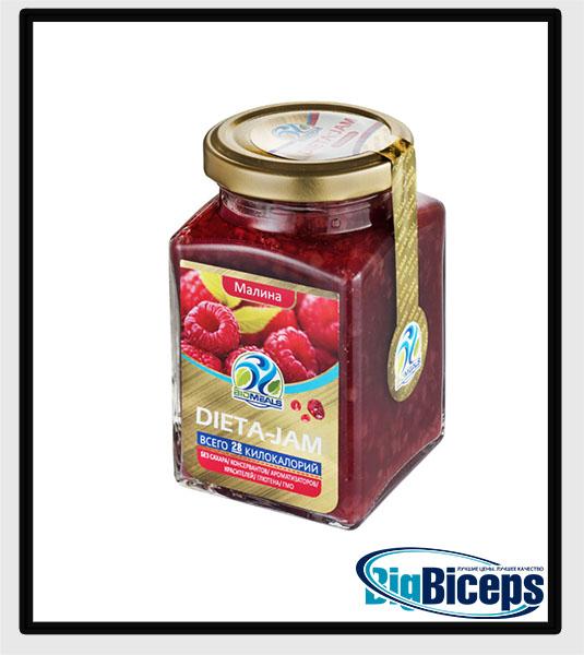 BIOMEALS DIETA-JAM, малина, 230 гр.