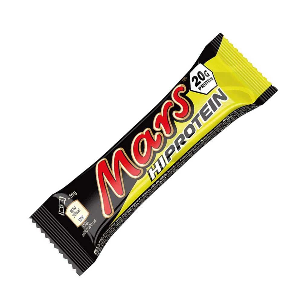 Mars Hi Protein 57 г | Протеиновый батончик Марс