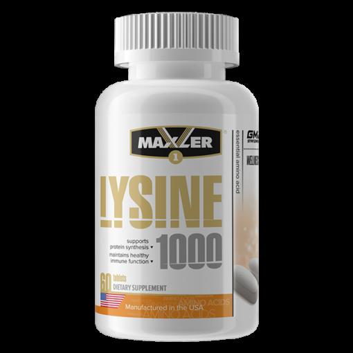 maxler Lysine 1000 60 tab