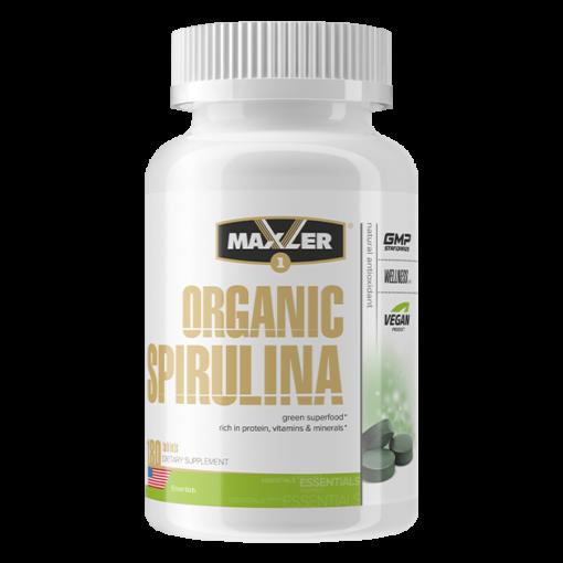 maxler Organic Spirulina 180 tab