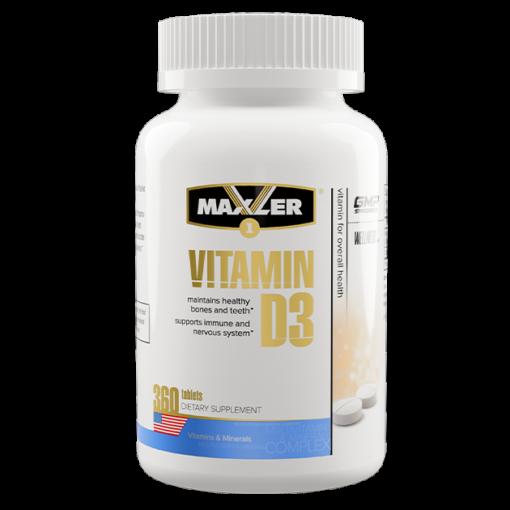maxler Vitamin D3 360 tab