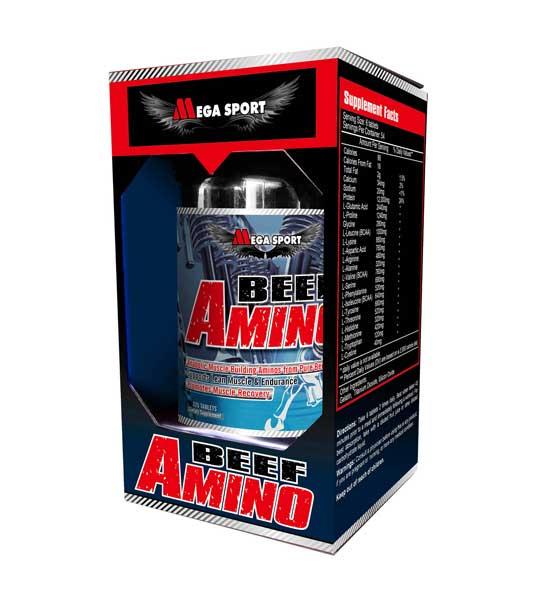 Mega Sport Beef Amino 325 таб