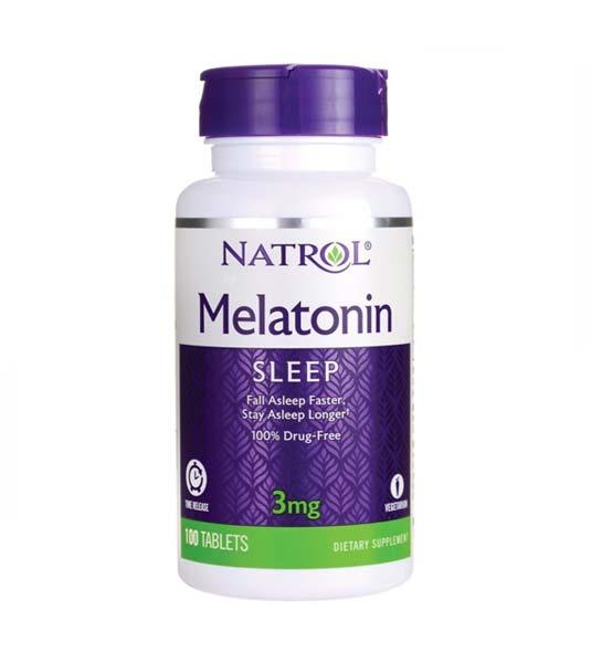 Natrol Melatonin 3 мг 100 таб