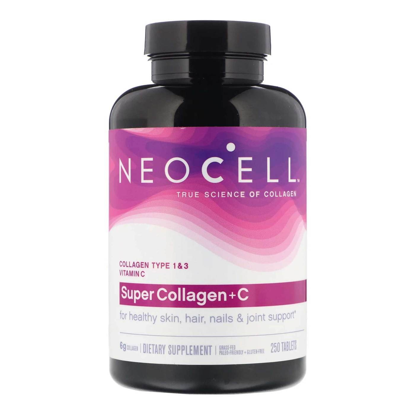 NeoCell Collagen + Витамин C 250 таблеток