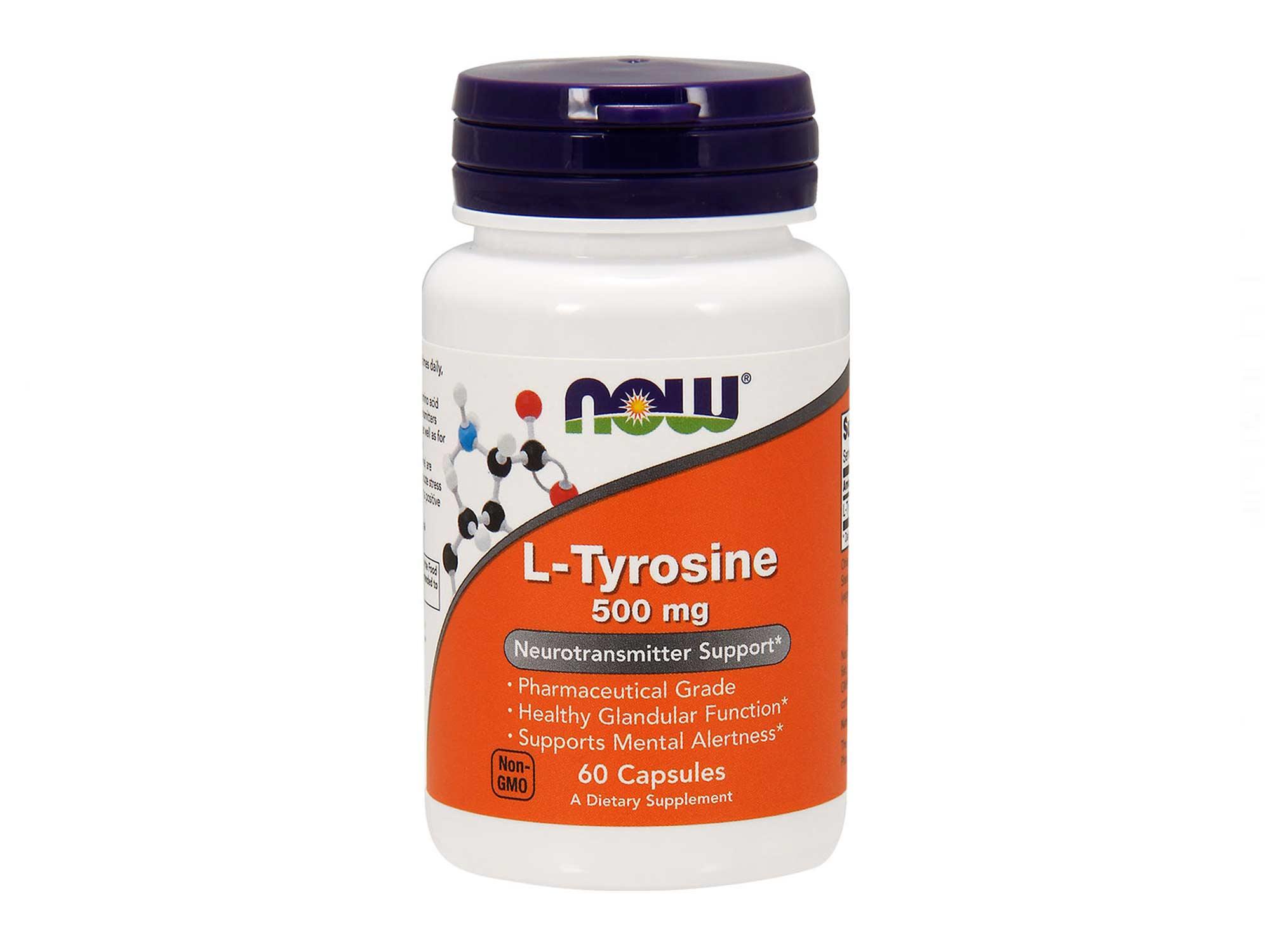 NOW L-Tyrosine 500 мг 60 капс