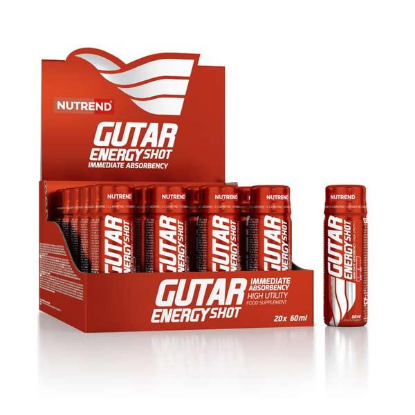 Nutrend Gutar Energy Shot 60 мл 20шт