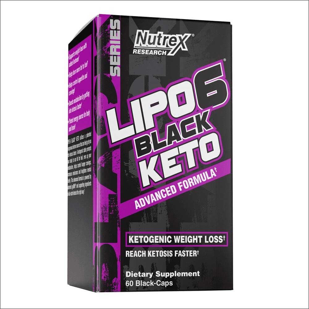 Nutrex Lipo-6 Black Keto 60 капс