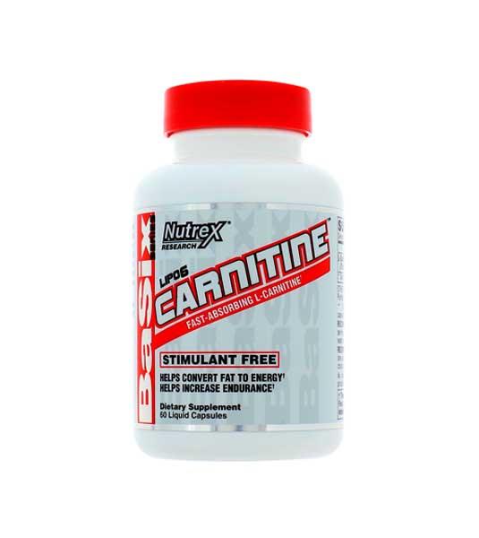 Nutrex Lipo-6 Carnitine 60 капс