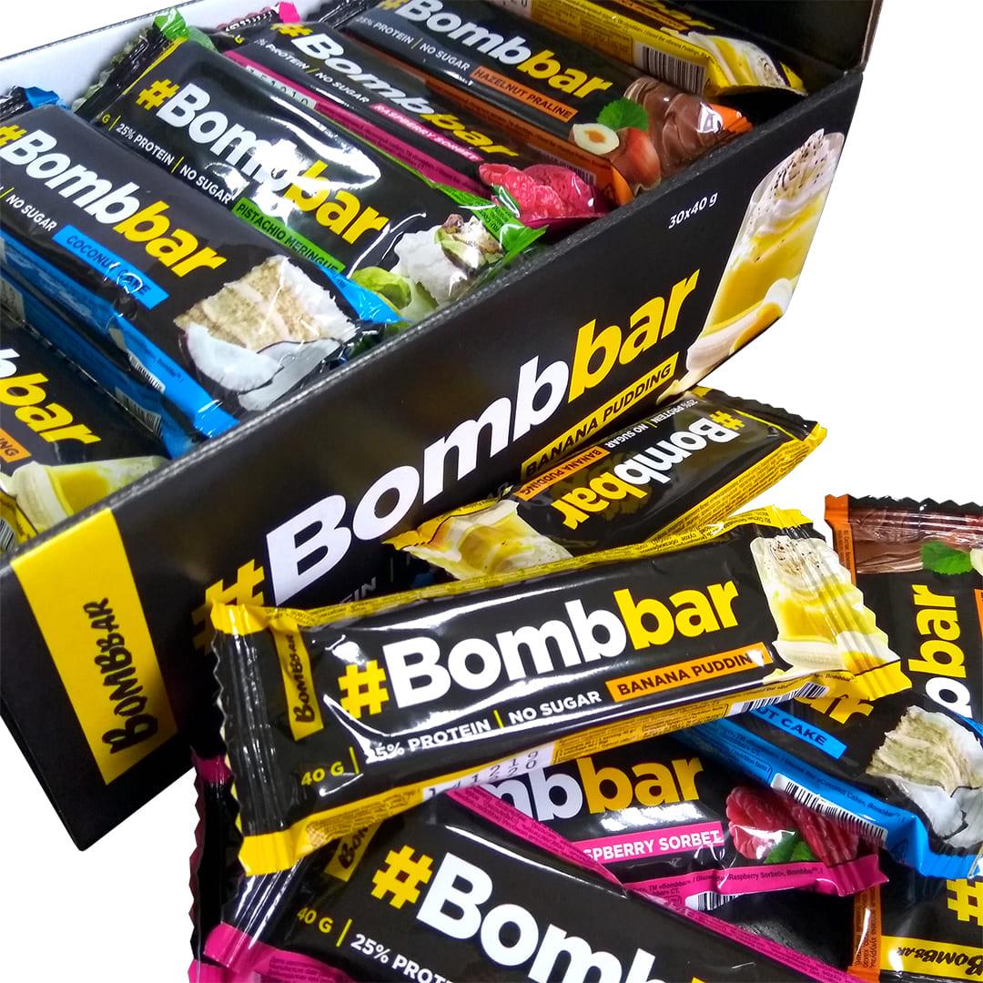 Bombbar protein bar в шоколадной глазури 40 gr