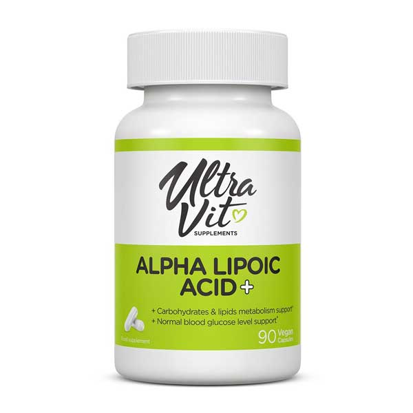 UltraVit Alpha Lipoic Acid+ 90 капс