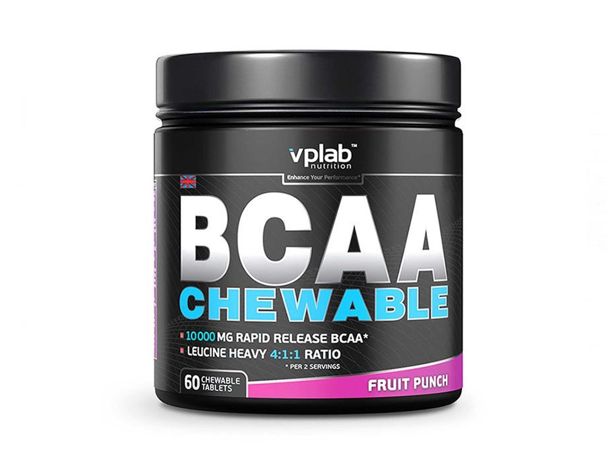 VPlab BCAA Chewable 60 жевательных таблеток