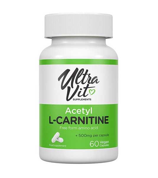 UltraVit Acetyl Carnitine 60 вег капсул