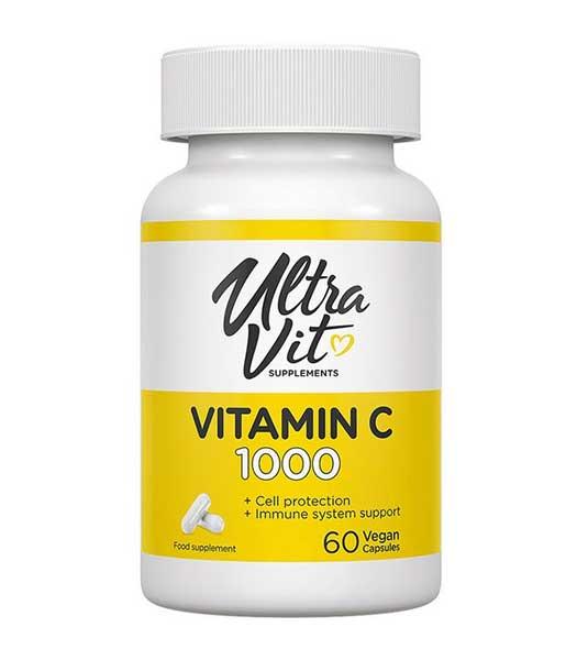 UltraVit Vitamin C 1000 мг 60 вег капсул
